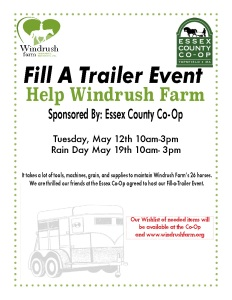 Fill A Trailer Event Essex County Co Op Windrush Farm Blog
